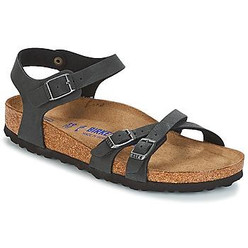 Zapatos Mujer Sandalias Birkenstock KUMBA SFB Negro