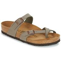 Zapatos Mujer Zuecos (Mules) Birkenstock MAYARI Gris
