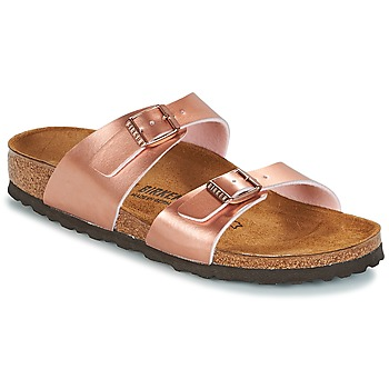 Zapatos Mujer Zuecos (Mules) Birkenstock SYDNEY Rosa / Gold