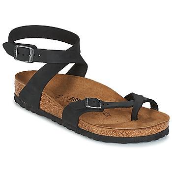 Zapatos Mujer Sandalias Birkenstock YARA Negro
