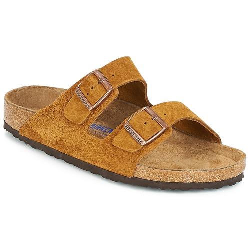 Zapatos especiales para hombres y mujeres Birkenstock ARIZONA SFB Marrón