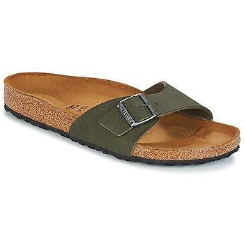 Zapatos Hombre Zuecos (Mules) Birkenstock MADRID Verde