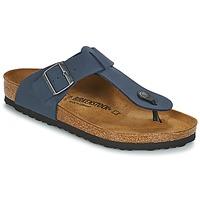 Zapatos Hombre Chanclas Birkenstock MEDINA Azul