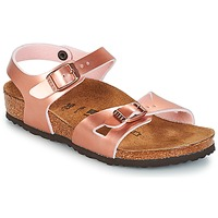 Zapatos Niña Sandalias Birkenstock RIO Rosa