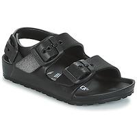 Zapatos Niños Sandalias Birkenstock MILANO-EVA Negro