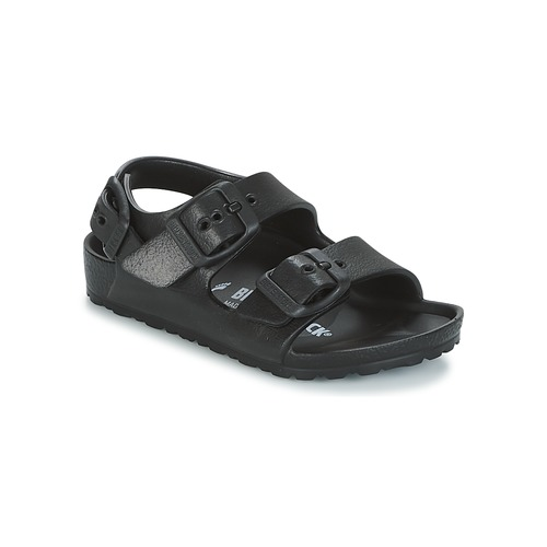 Zapatos Niño Sandalias Birkenstock MILANO-EVA Negro