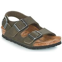 Zapatos Niño Sandalias Birkenstock MILANO Verde