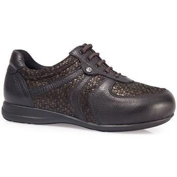 Zapatos Mujer Zapatillas bajas Calzamedi DIABÉTICO PALA ELÁSTICA W MARRON