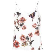textil Mujer camisetas sin mangas Moony Mood IDARI Blanco