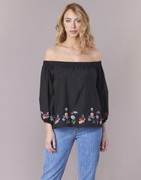 textil Mujer Tops / Blusas Moony Mood IFITI Negro