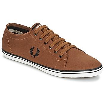 Zapatos Hombre Zapatillas bajas Fred Perry KINGSTON TWILL Marrón