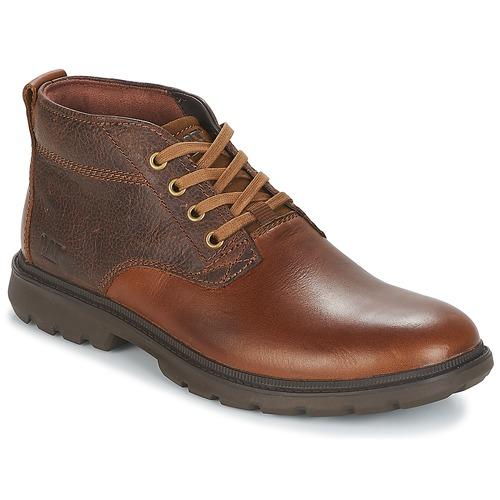 Zapatos especiales para hombres y mujeres Caterpillar TRENTON Brown / Sugar