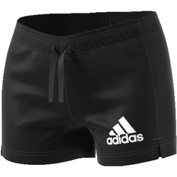 textil Mujer Shorts / Bermudas adidas Originals ESS SOLID SHORT BLACK/WHITE B45780 NEGRO