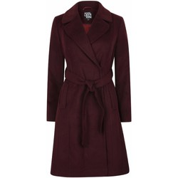 textil Mujer Trench Anastasia Envolver el abrigo de invierno para mujer. Red