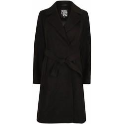 textil Mujer Parkas Anastasia Envolver el abrigo de invierno para mujer. Black