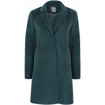 textil Mujer Abrigos Anastasia Abrigo de invierno con cremallera y cinturón para mujer Green