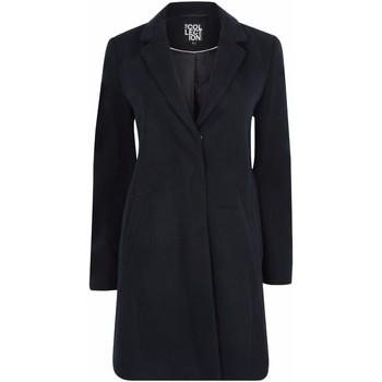 textil Mujer Abrigos Anastasia Abrigo de invierno con cremallera y cinturón para mujer Blue