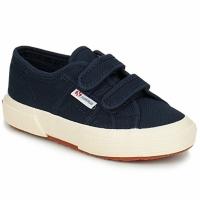 Zapatos Niños Zapatillas bajas Superga 2750 STRAP Marino