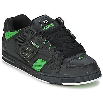 Zapatos Hombre Zapatillas bajas Globe SABRE Negro / Verde