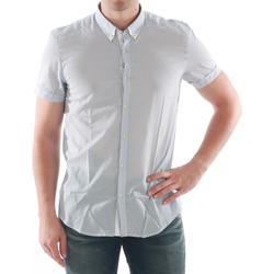 textil Hombre camisas manga corta Antony Morato - Azul claro