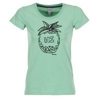 textil Mujer camisetas manga corta Bench BLWG002642 Verde