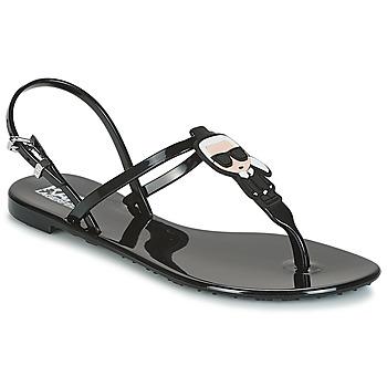 Zapatos Mujer Sandalias Karl Lagerfeld JELLY KARL ICONIK Negro
