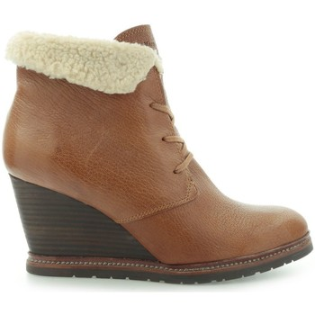 Zapatos Mujer Botines Marc O'Polo Marc Opolo Tumbled Kid Taupe Marrón