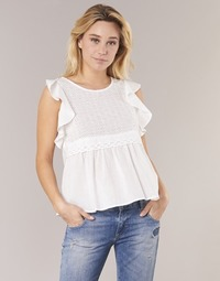 textil Mujer Tops / Blusas Betty London INNATOUNE Blanco