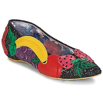 Zapatos Mujer Bailarinas-manoletinas Irregular Choice BANANA BOAT Negro