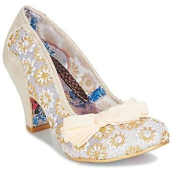 Zapatos Mujer Zapatos de tacón Irregular Choice PALM COVE Beige