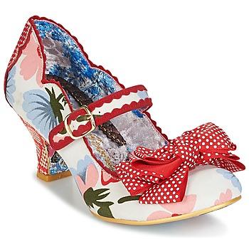 Zapatos Mujer Zapatos de tacón Irregular Choice BALMY NIGHTS Blanco / Rojo