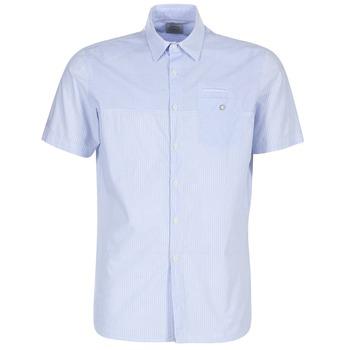 textil Hombre camisas manga corta Oxbow K1CAMINO Azul / Celeste