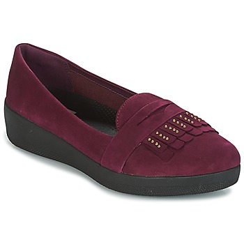 Zapatos Mujer Bailarinas-manoletinas FitFlop LOAFER Violeta