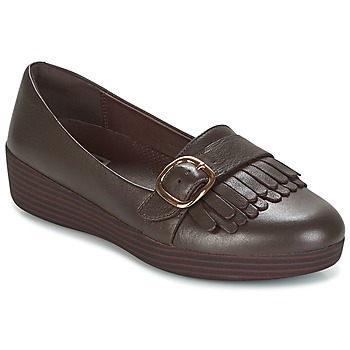Zapatos Mujer Mocasín FitFlop LOAFER/MOC Chocolate / Brown