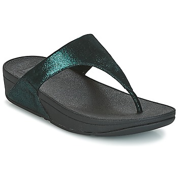Zapatos Mujer Chanclas FitFlop SHIMMY SUEDE TOE-POST Verde