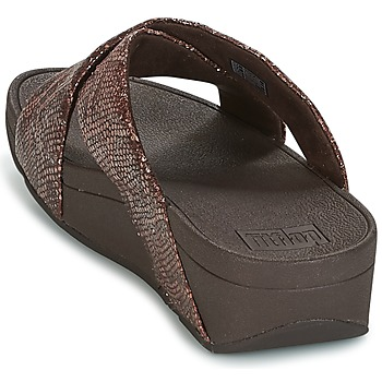 FitFlop SWOOP SLIDE Chocolate