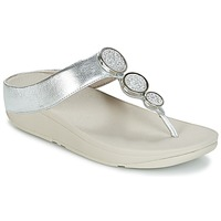 Zapatos Mujer Chanclas FitFlop HALO TOE THONG SANDALS Plata