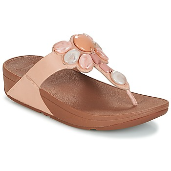 Zapatos Mujer Chanclas FitFlop HONEYBEE JEWELLED TOE Nude