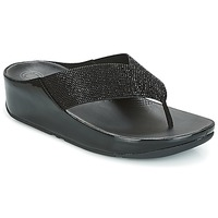 Zapatos Mujer Chanclas FitFlop CRYSTALL Negro