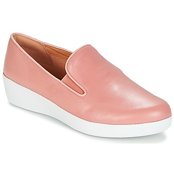 Zapatos Mujer Slip on FitFlop SUPERSKATE Rosa