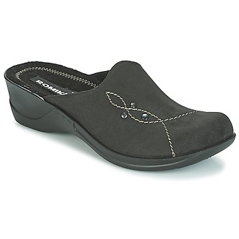Zapatos Mujer Zuecos (Mules) Romika VILLA 125 Negro