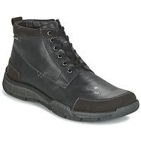 Zapatos Hombre Zapatillas altas Josef Seibel PHIL 03 Negro