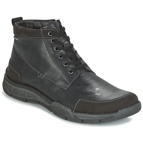 Zapatos especiales para hombres y mujeres Josef Seibel PHIL 03 Negro