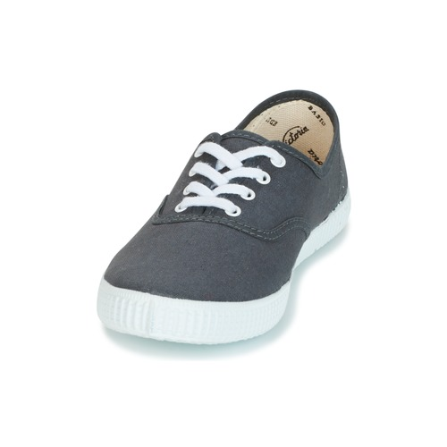 Zapatos Lona Zapatillas Bajas Victoria Inglesa Antracita qzUMVpGLS