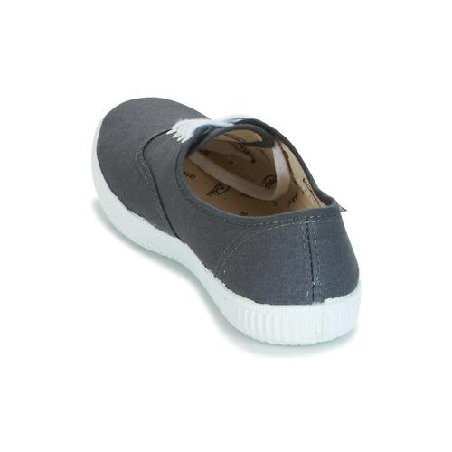 Lona Inglesa Zapatos Antracita Zapatillas Bajas Victoria 6bf7gy