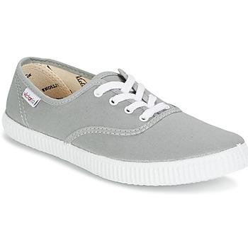 Zapatos Zapatillas bajas Victoria INGLESA LONA Gris