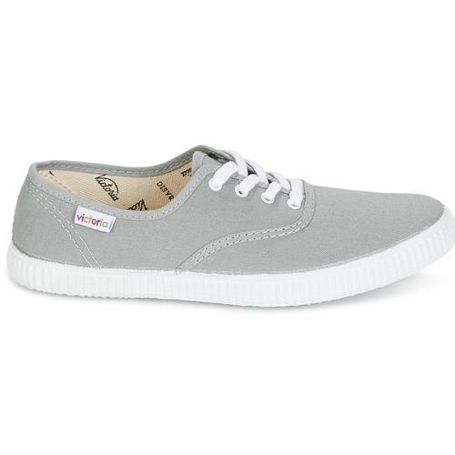 Lona Victoria Bajas Zapatos Zapatillas Gris Inglesa MpSUzV