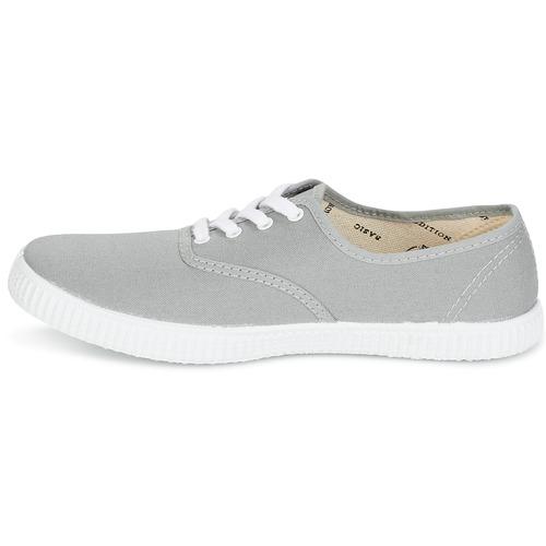 Gris Zapatos Zapatillas Inglesa Bajas Victoria Lona HYbEI9e2WD