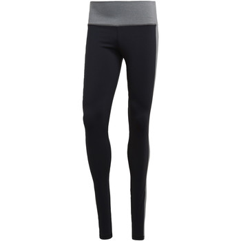 textil Mujer leggings adidas Performance Mallas Believe This High-Rise Heathered Negro