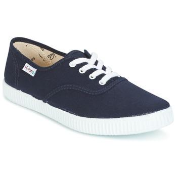 Zapatos Zapatillas bajas Victoria INGLESA LONA Marino